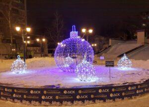 werled.ru Декоративная светотехника - светодиодные шары для улицы