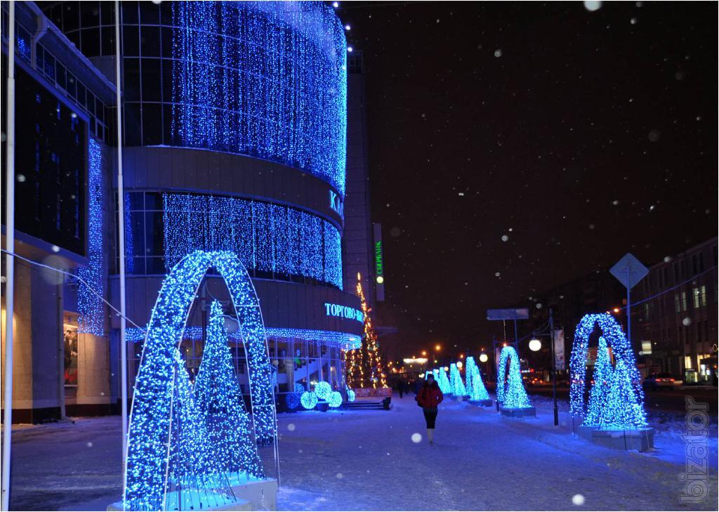 werled.ru Декоративная светотехника - гирлянды и новогодние фигуры